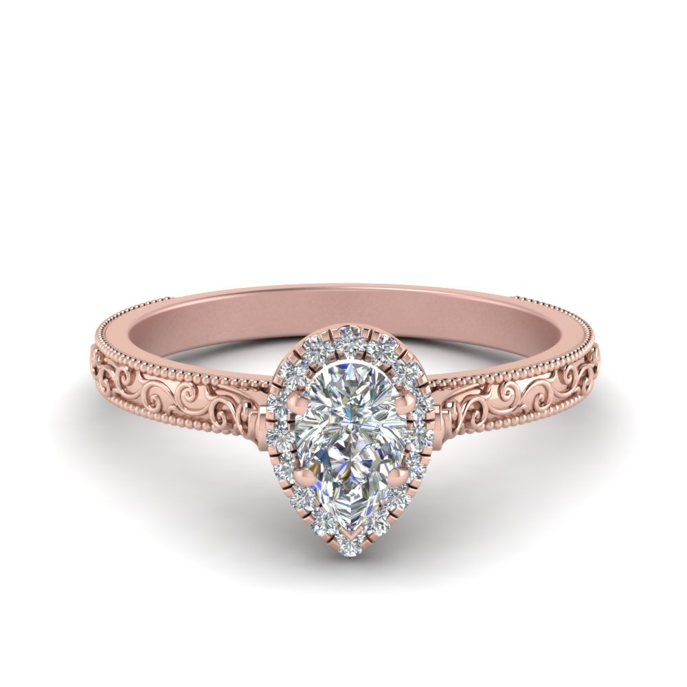upon products engagement diamonds diamond pear once pink a ring with rings