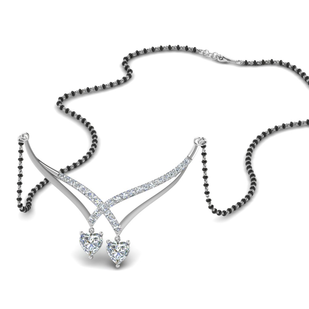 heart-diamond-drop-necklace-mangalsutra-in-MGS8770-NL-WG