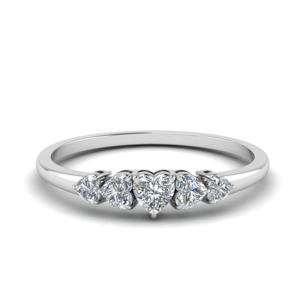 rings eternity ring bridal cut from stone image platinum brilliant diamond engagement