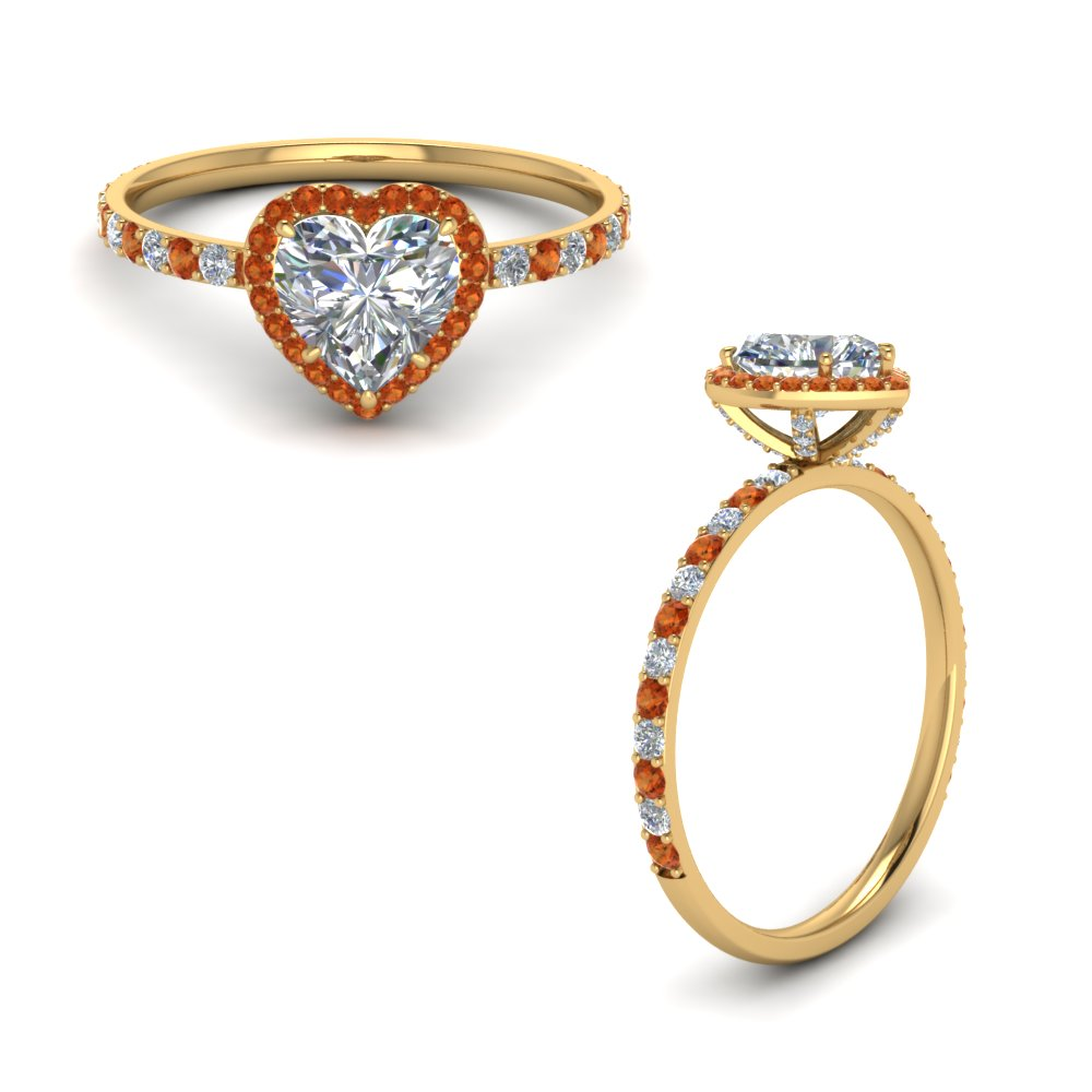 1.50-carat-diamond-petite-engagement-ring-with-orange-sapphire-heart-halo-in-FD8521HTRGSAORANGLE1 NL YG