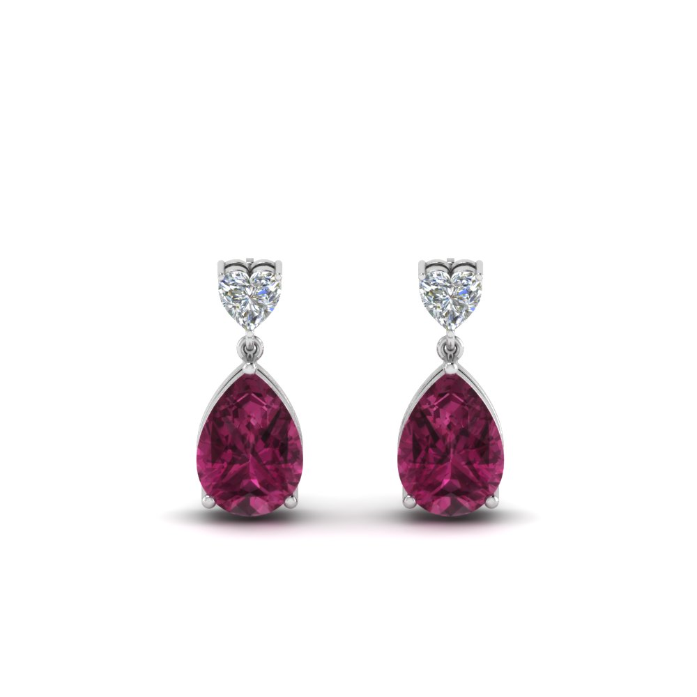 heart-diamond-stud-teardrop-pink-sapphire-earring-in-FDEAR8989GSADRPIANGLE1-NL-WG
