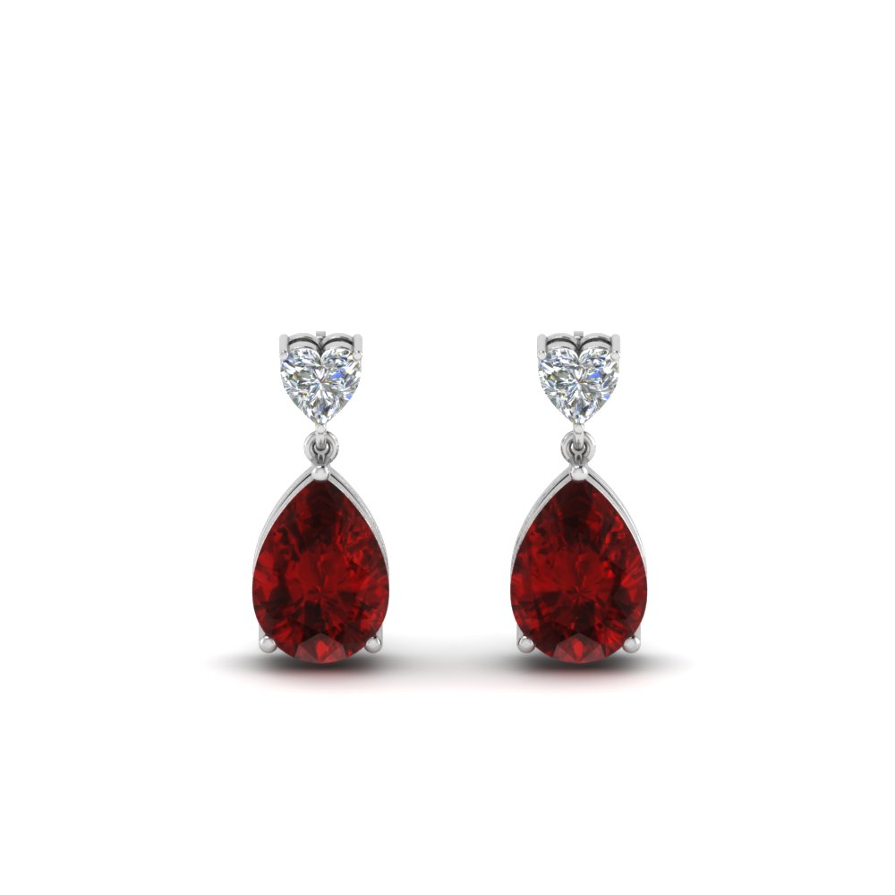 4b69a1fd1 heart-diamond-stud-teardrop-ruby-earring-in-FDEAR8989GRUDRANGLE1-