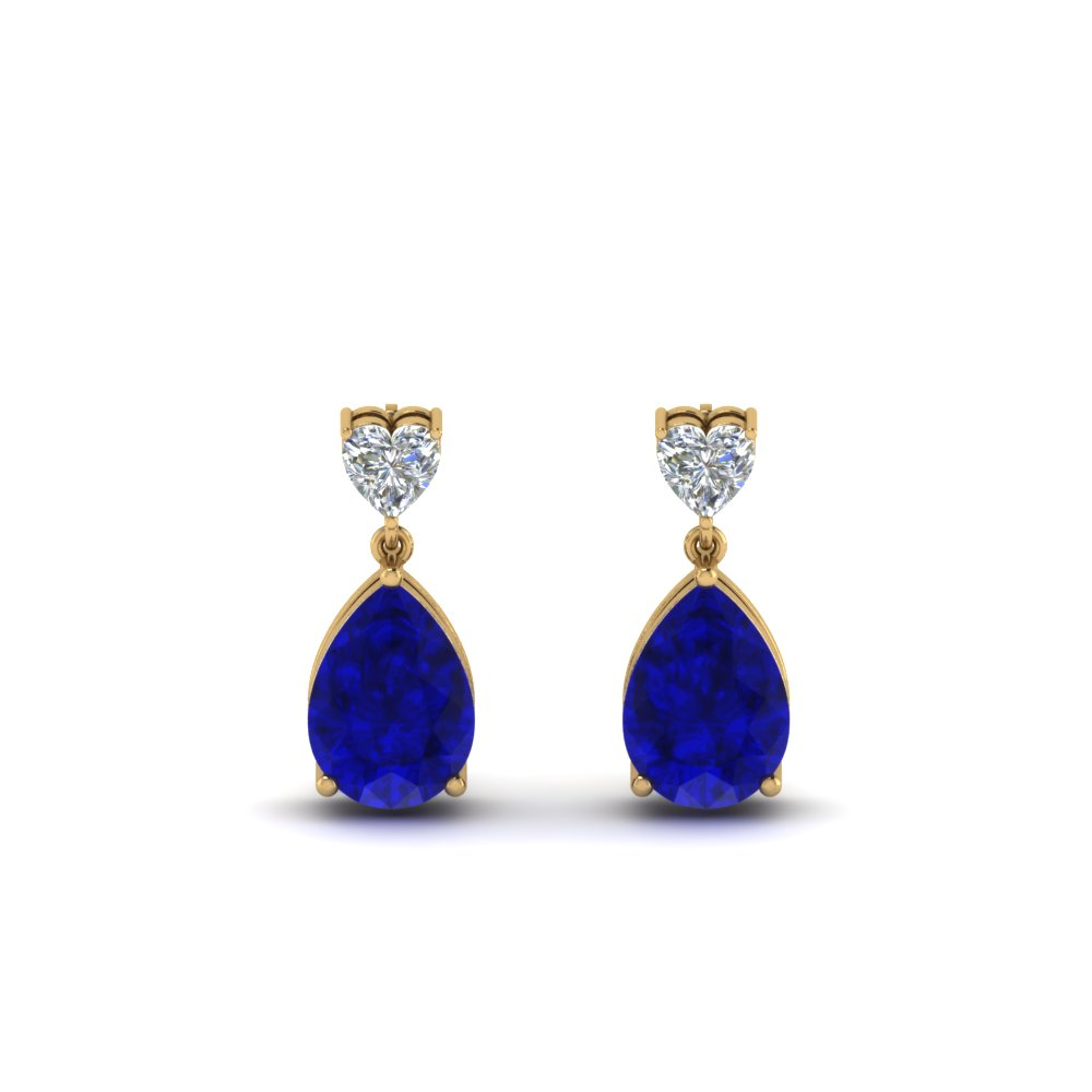 Sapphire Earrings For Her