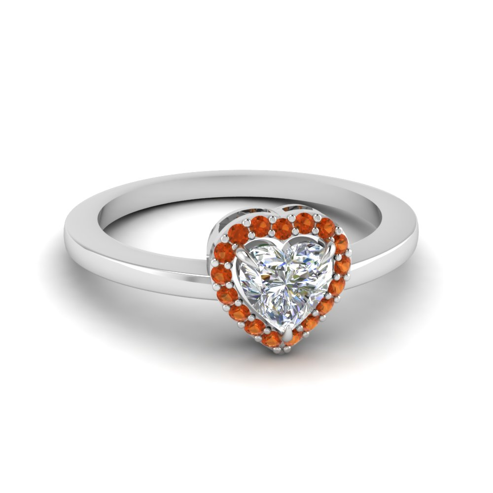 Heart Halo Promise Ring