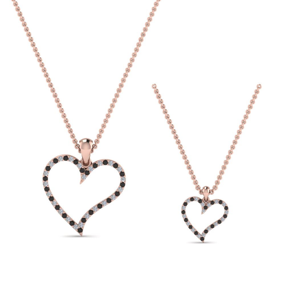 heart-necklace-for-mom-daughter-with-black-diamond-in-FDPD9066MD-K-GBLACKANGLE2-NL-RG