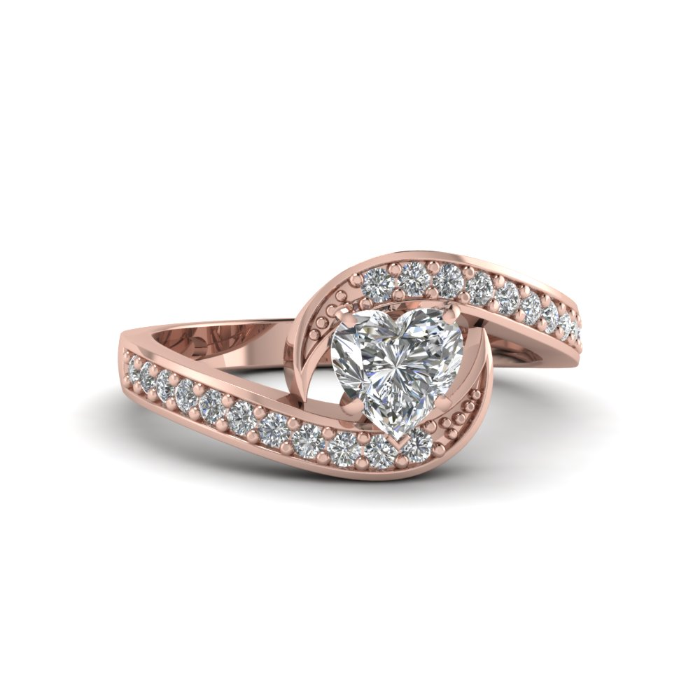 Bypass Delicate Diamond Ring