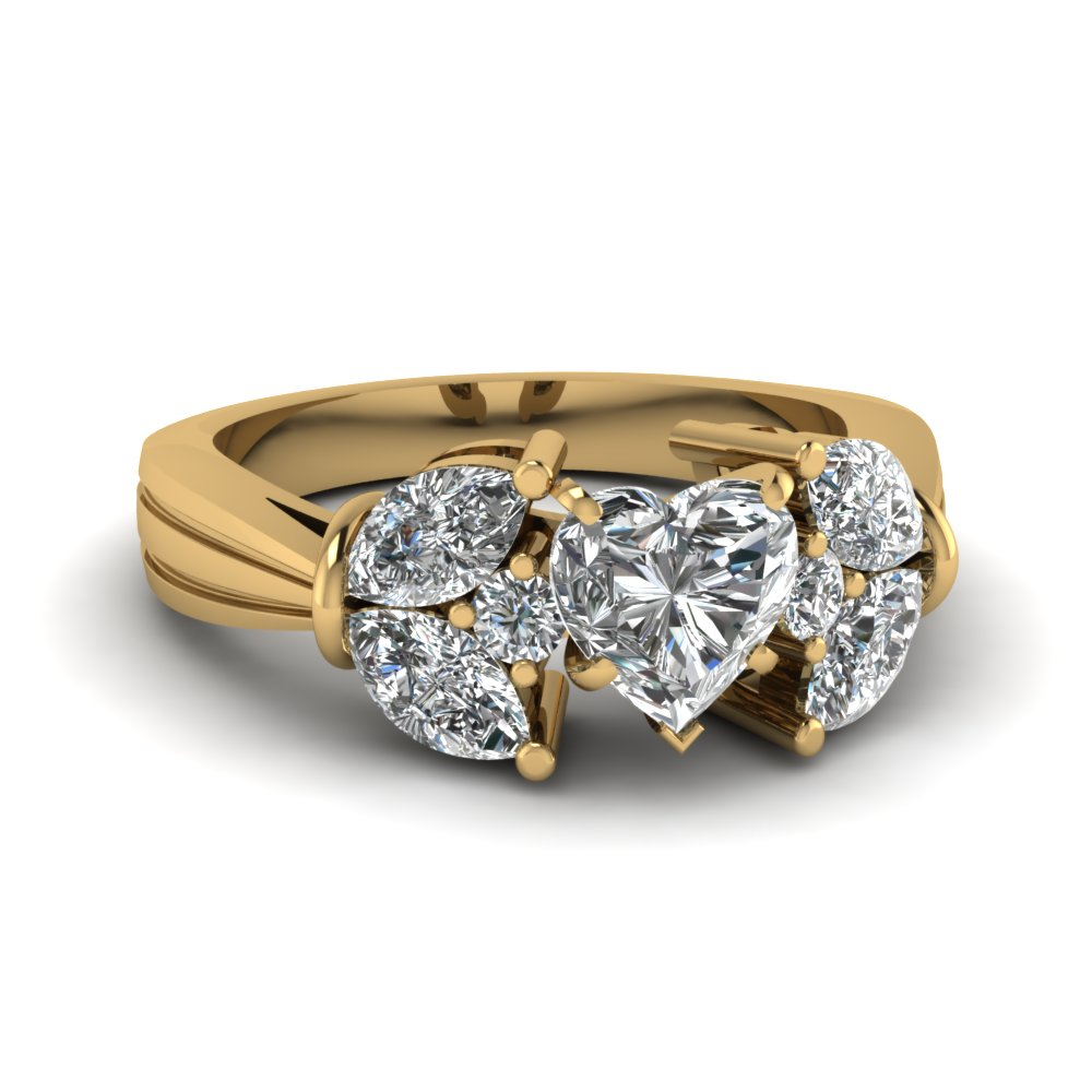 Beautiful Diamond Engagement Ring For Her
