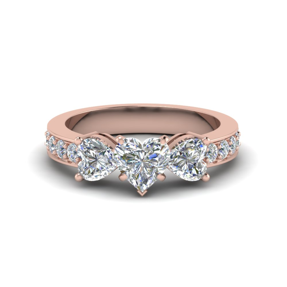 2.5 Past Present Future Diamond Ring