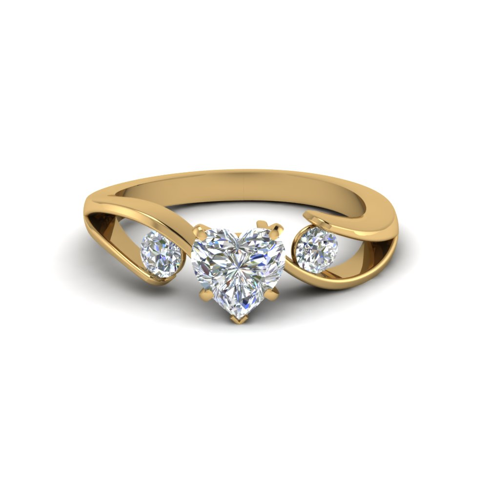 carat three tw engagement with white rings sapphire stone diamonds gold of ring in