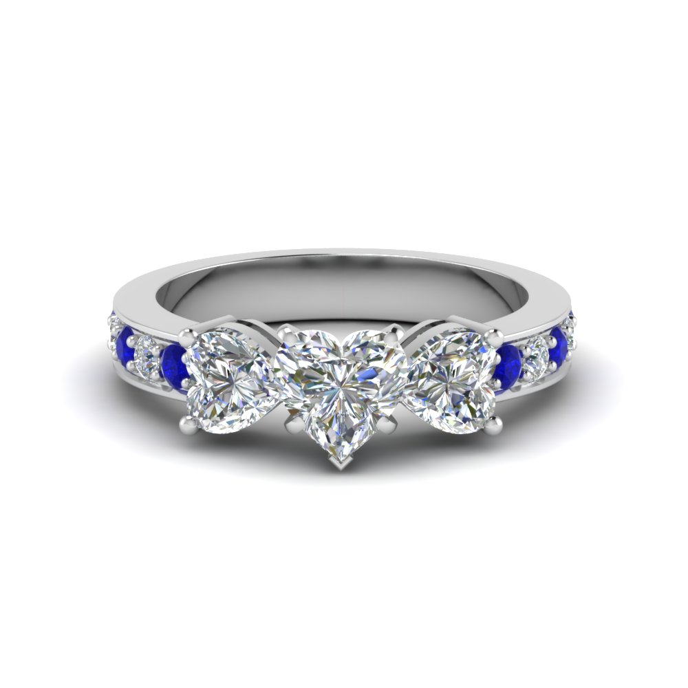 Past Present Future Diamond Engagement Ring With Shire In Fd8031htrgsabl Nl Wg