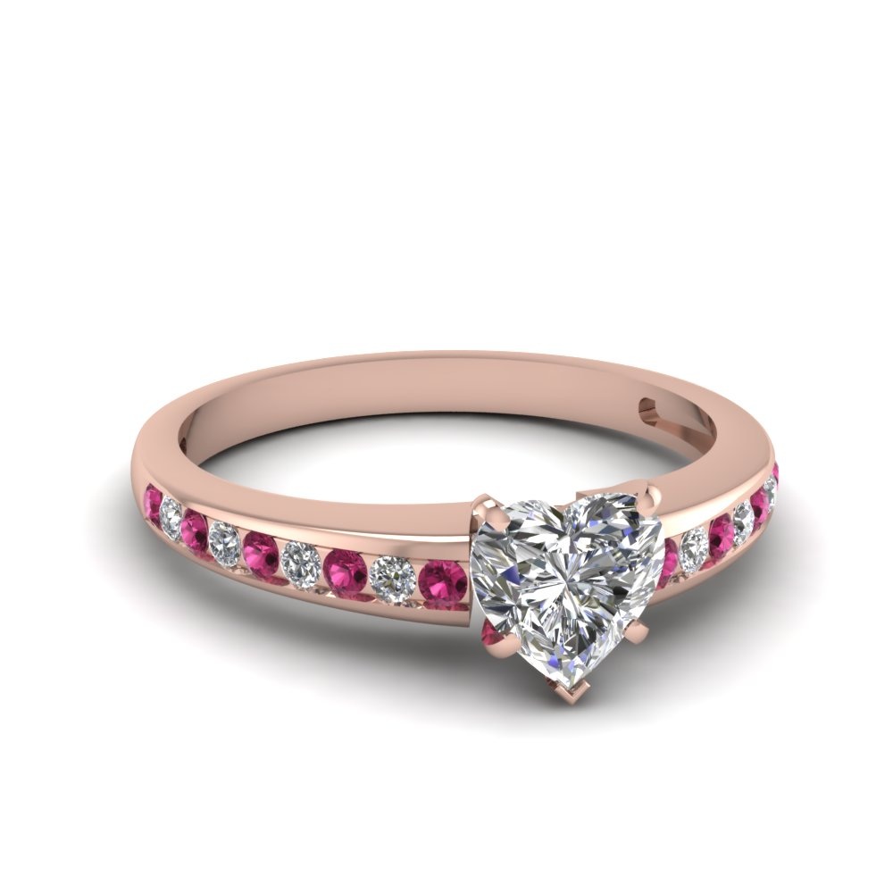 Shop for stunning Pink Sapphire Jewelry | Fascinating Diamonds