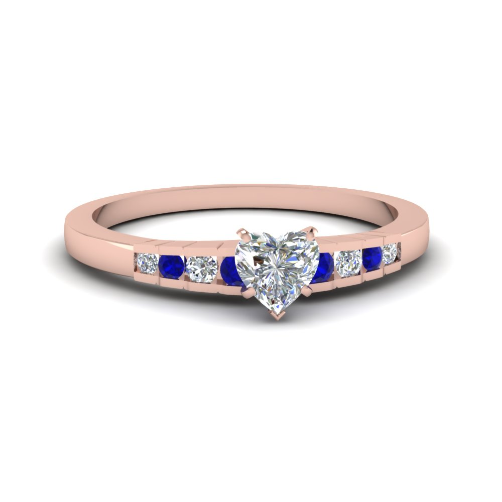 Affordable Engagement Ring Heart Shaped