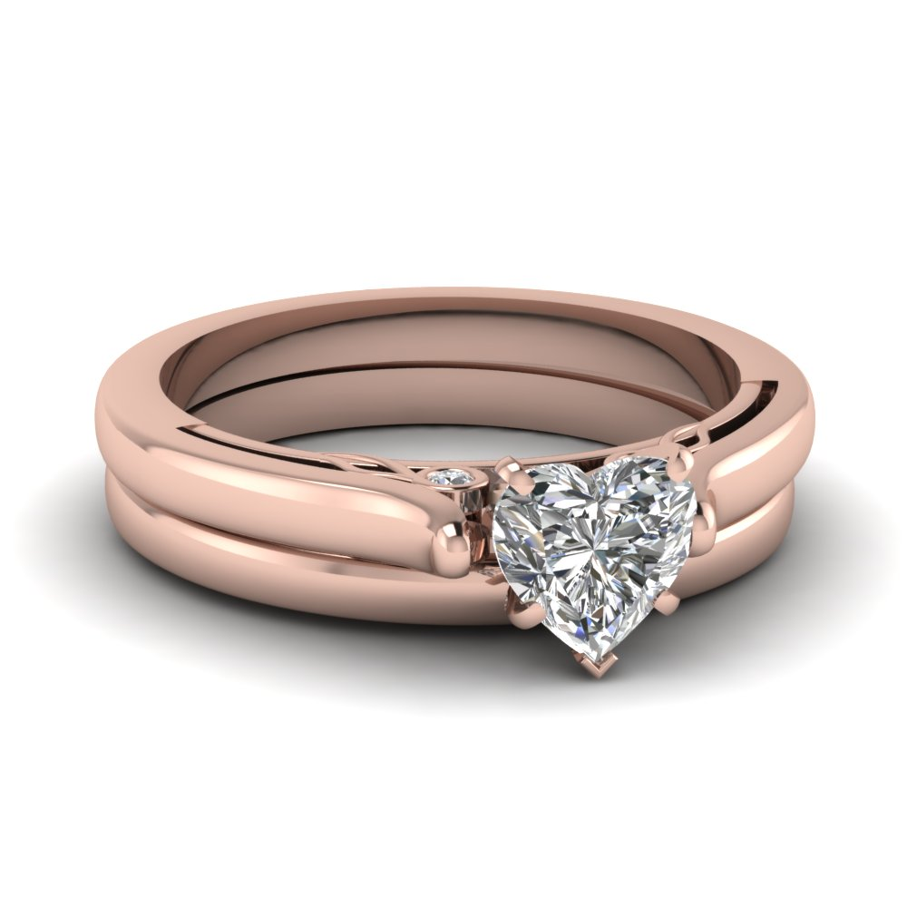 rose gold heart shaped engagement rings fascinating diamonds. Black Bedroom Furniture Sets. Home Design Ideas