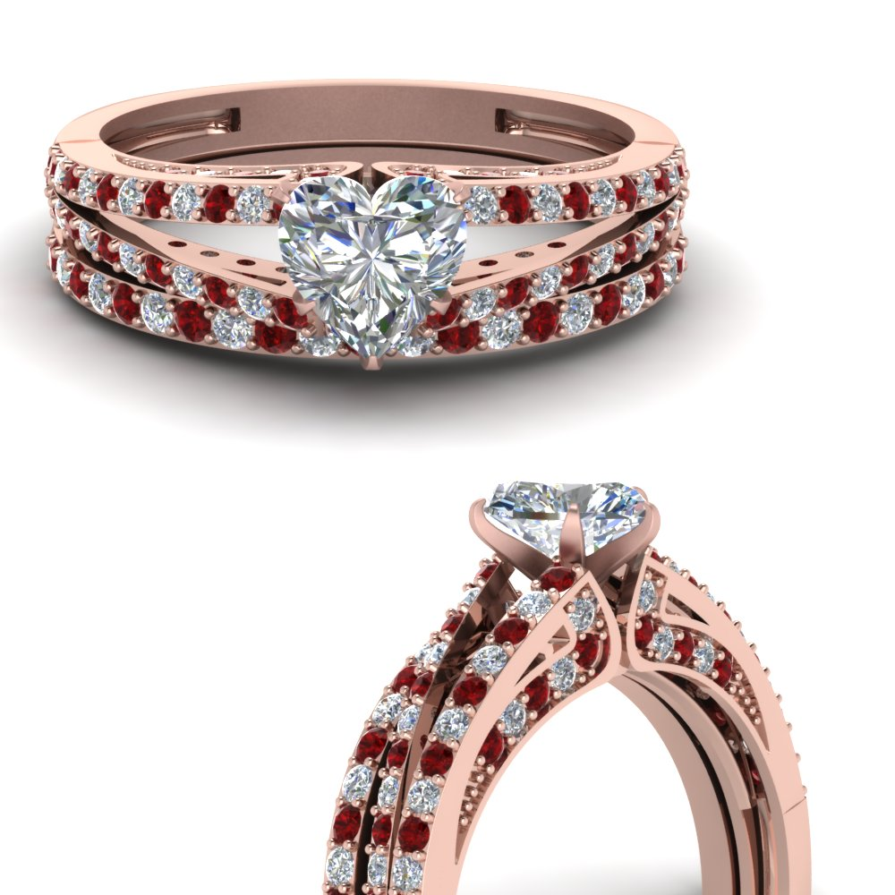 heart-shaped-diamond-wedding-ring-set-with-ruby-in-FDENS3131HTGRUDRANGLE3-NL-RG