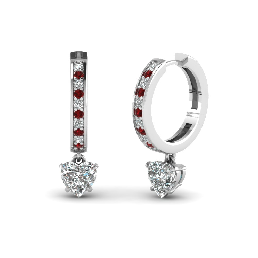 Diamond Drop Earring