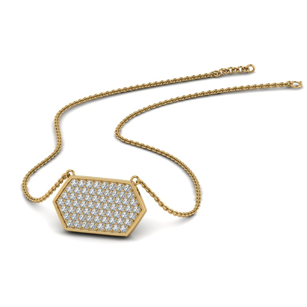 hexagon-diamond-necklace-in-FDPD9228-NL-YG