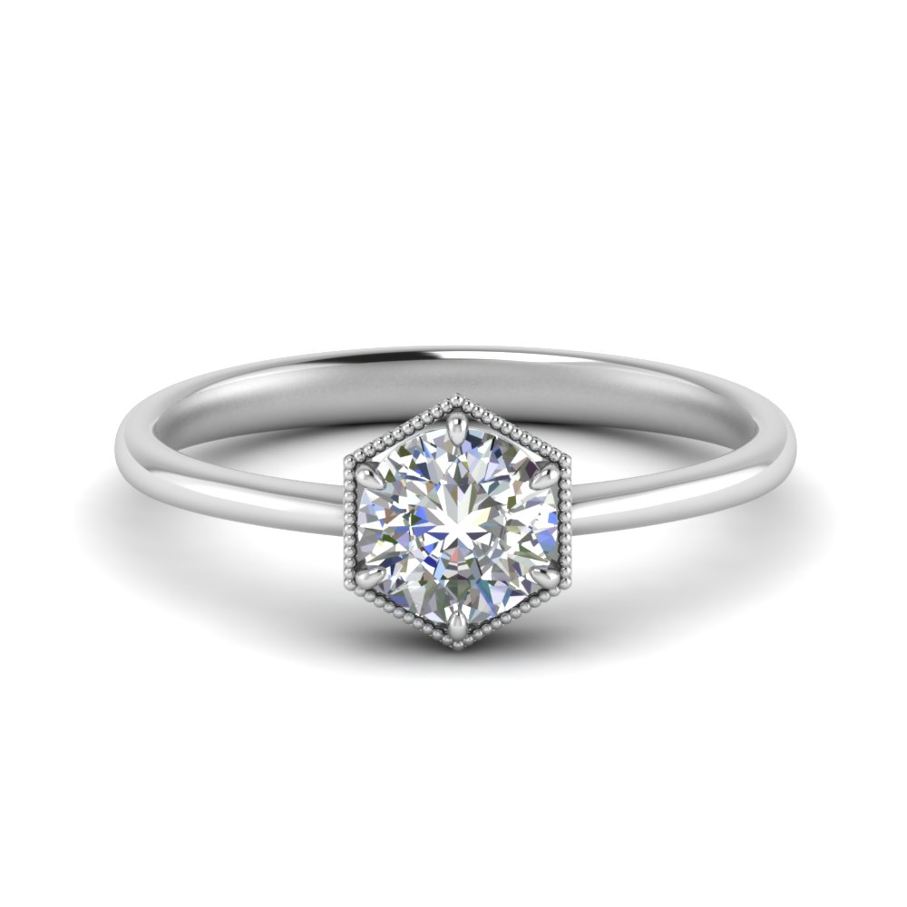 hexagon-solitaire-8mm-round-moissanite-ring-in-FD9162ROR-NL-WG