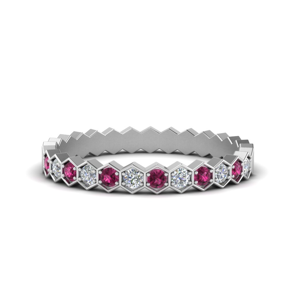 hexagon-women-diamond-wedding-band-with-pink-sapphire-in-FD9187GSADRPI-NL-WG