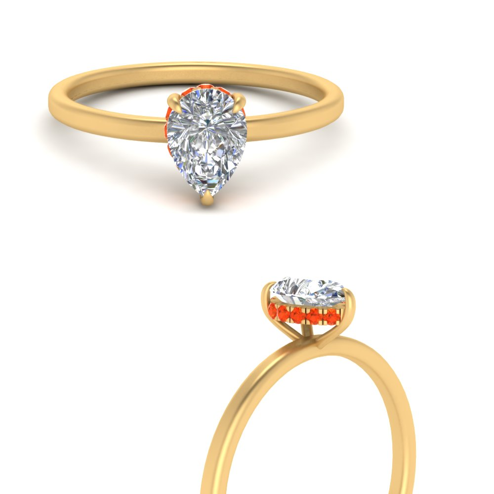 hidden-halo-pear-petite-orange-topaz-engagement-ring-in-FD9359PERGPOTOANGLE3-NL-YG
