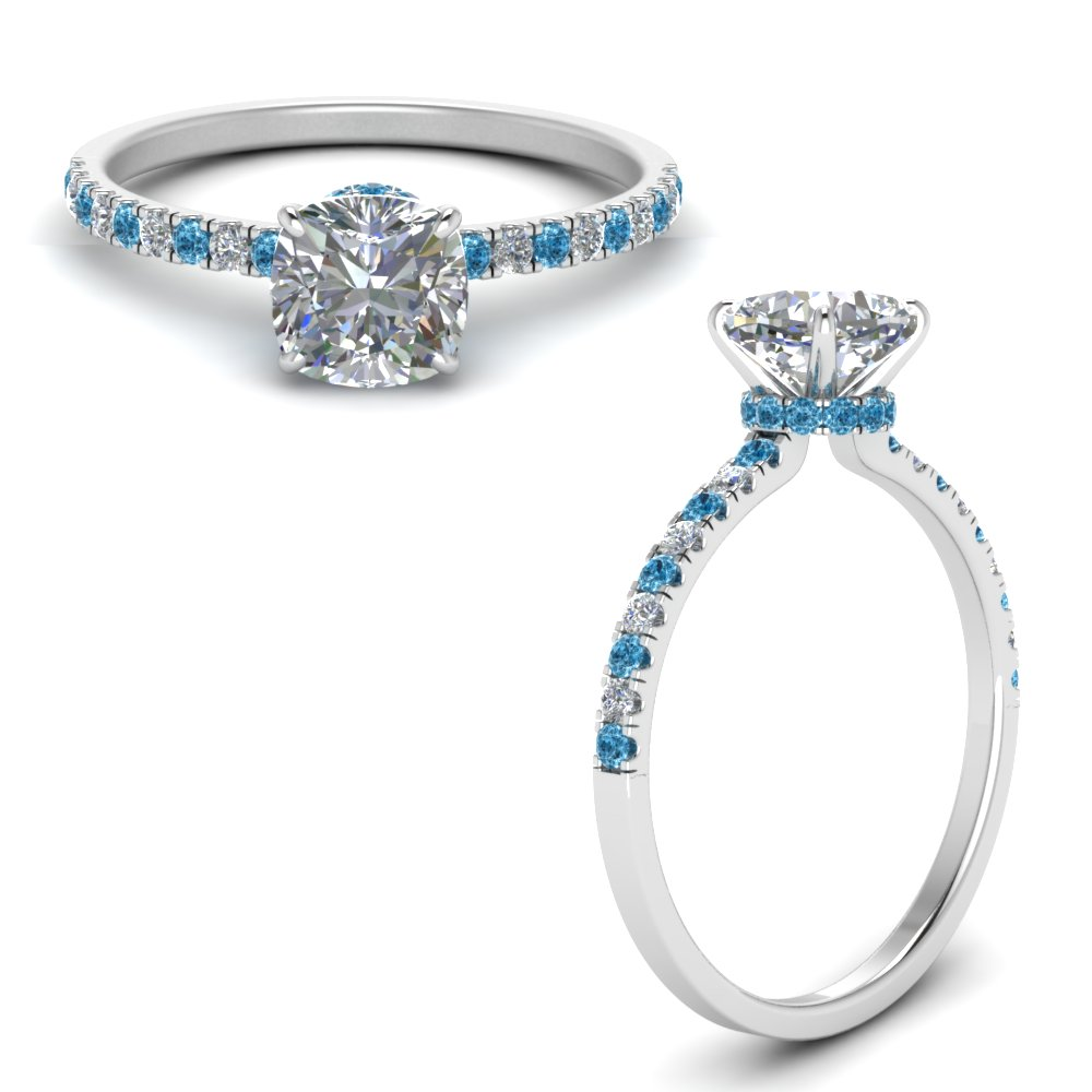 hidden-halo-petite-cushion-cut-diamond-engagement-ring-with-blue-topaz-in-FD9168CURGICBLTOANGLE3-NL-WG