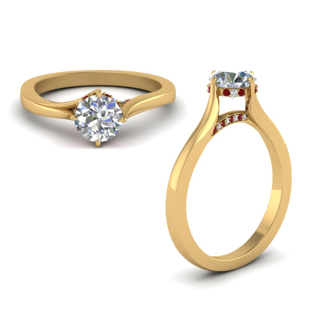 High Setting Diamond Ring