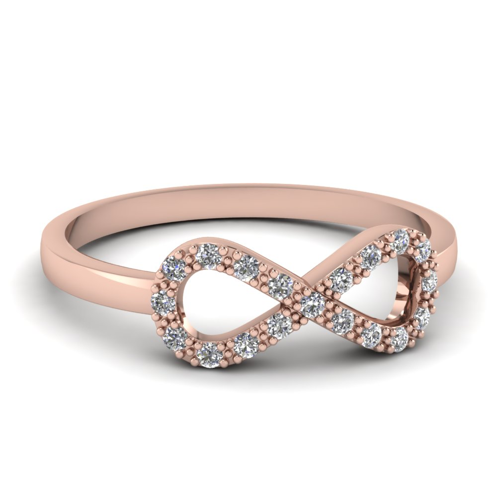 Infinity Love Knot Wedding Band