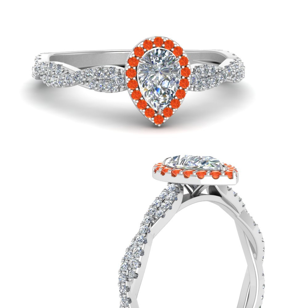 infinity-halo-pear-shaped-diamond-engagement-ring-with-orange-topaz-in-FD123267PERGPOTOANGLE3-NL-WG