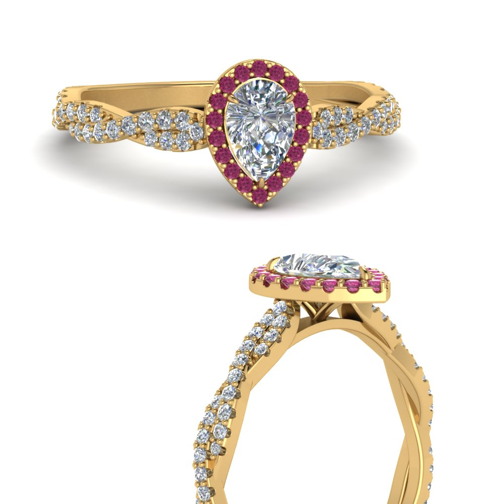 infinity-halo-pear-shaped-diamond-engagement-ring-with-pink-sapphire-in-FD123267PERGSADRPIANGLE3-NL-YG