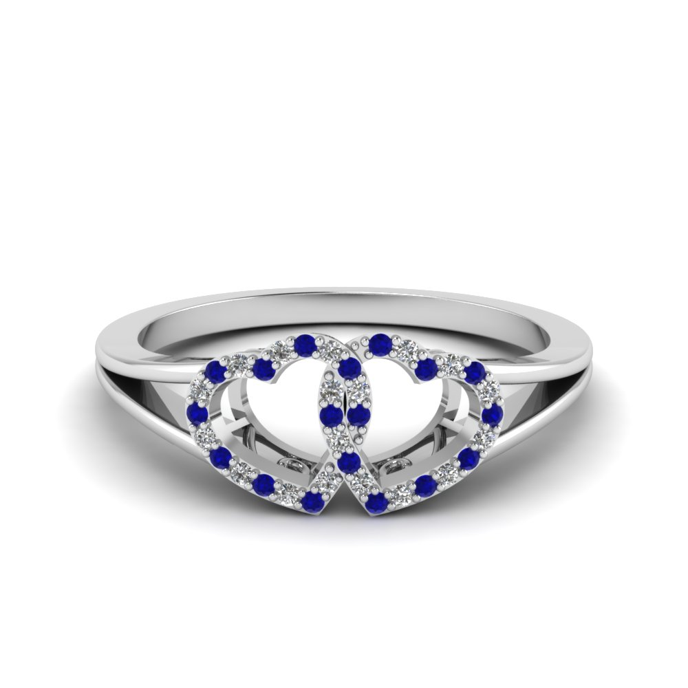 product promise cut princess ring cute zirconia blue cubic sapphire