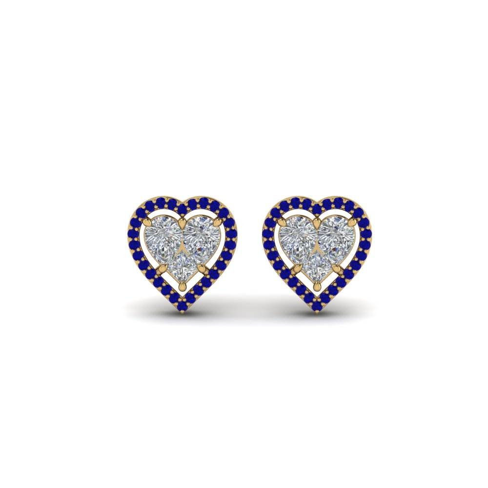 invisible-set-heart-halo-stud-diamond-earring-with-sapphire-in-FDEAR9264GSABLANGLE1-NL-YG