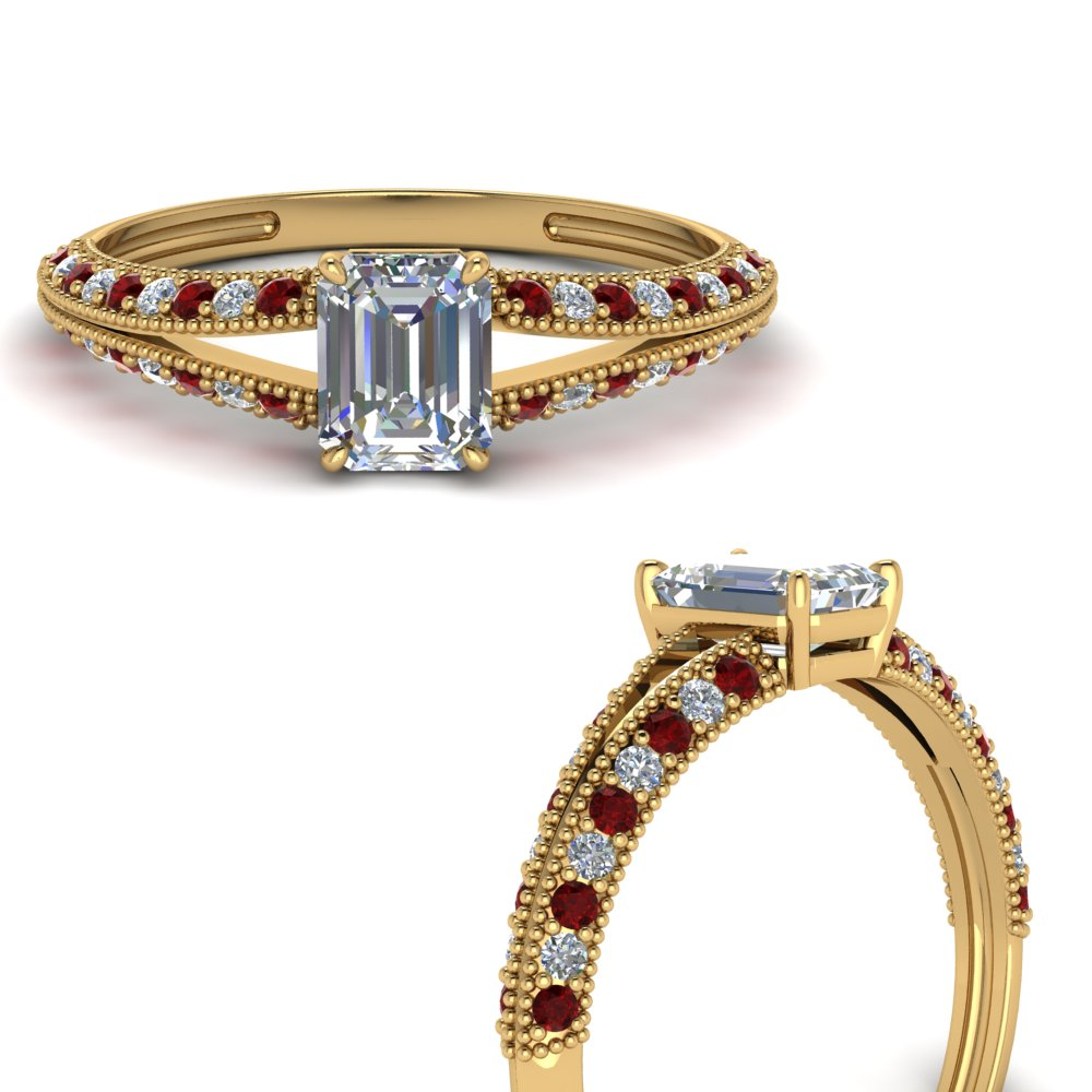 knife-edge-emerald-cut-diamond-split-shank-engagement-ring-with-ruby-in-FD9173EMRGRUDRANGLE3-NL-YG