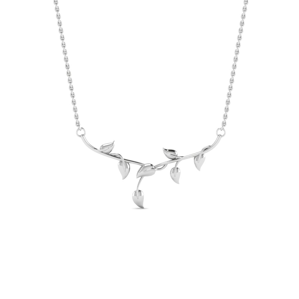 leaf necklace in FDPD8582ANGLE2 NL WG