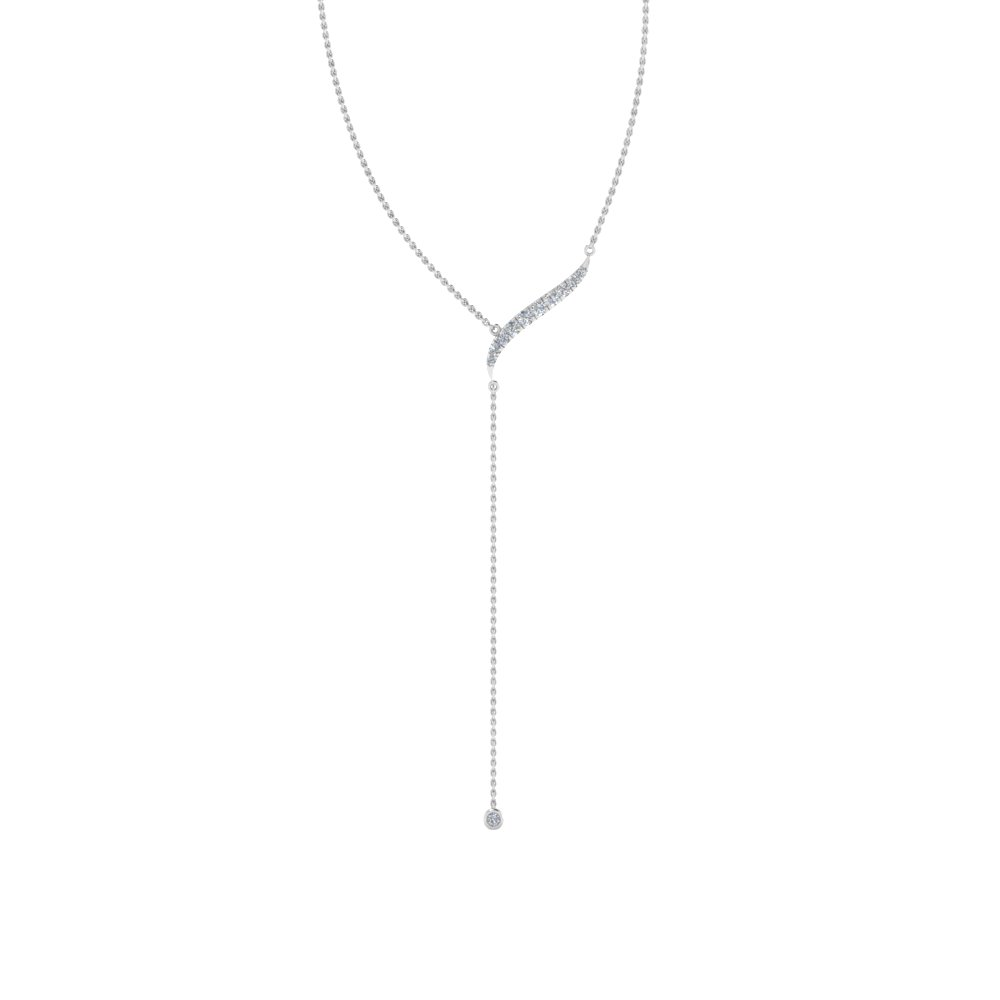 long chain drop diamond pendant in FDPD652841ANGLE2 NL WG