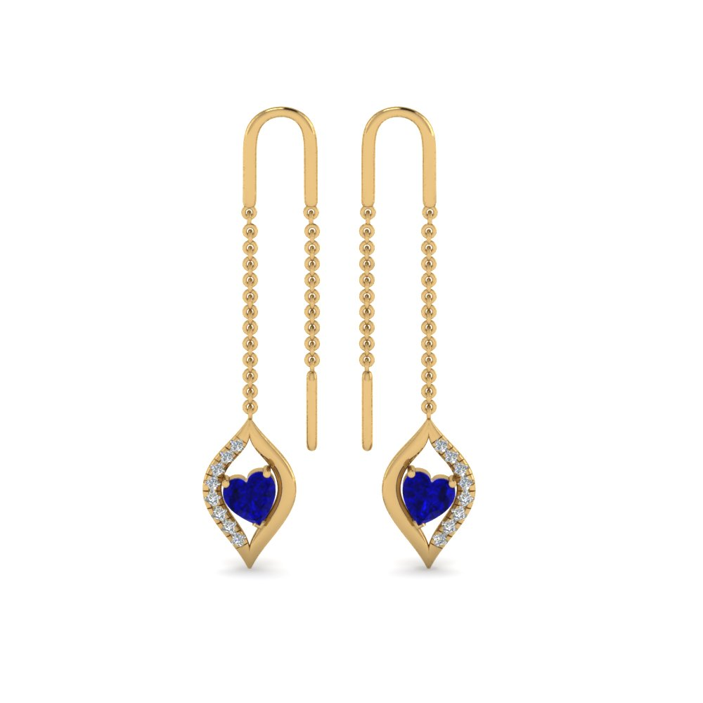 long-threader-heart-diamond-earring-with-sapphire-in-FDEAR8804GSABLANGLE1-NL-YG