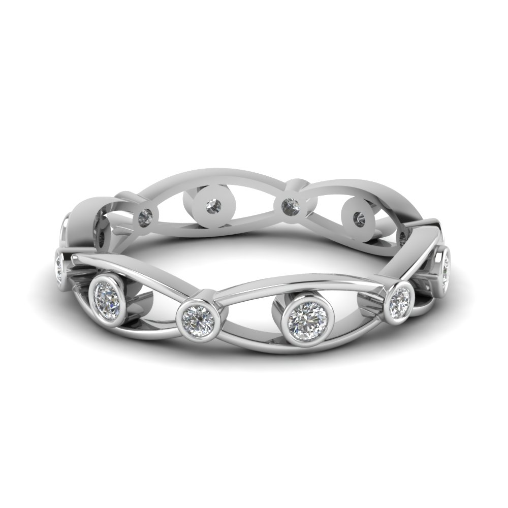 Stunning Diamond Eternity Band For Women