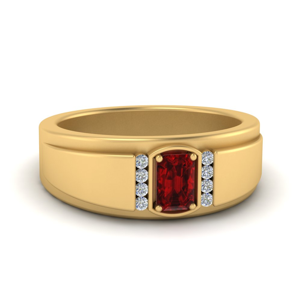 male-emerald-cut-ruby-solitaire-ring-in-FDM9856EMRGRUDR-NL-YG-GS