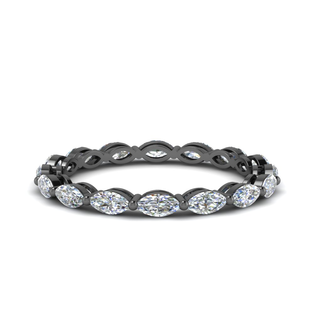 0.80 Ct. Marquise Diamond Eternity Band