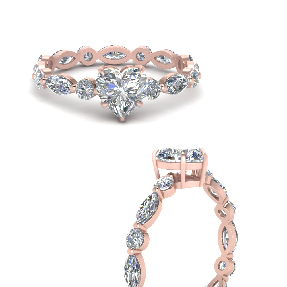 marquise-and-round-eternity-heart-shaped-lab diamond-engagement-ring-in-FDEWB9398HTRANGLE3-NL-RG