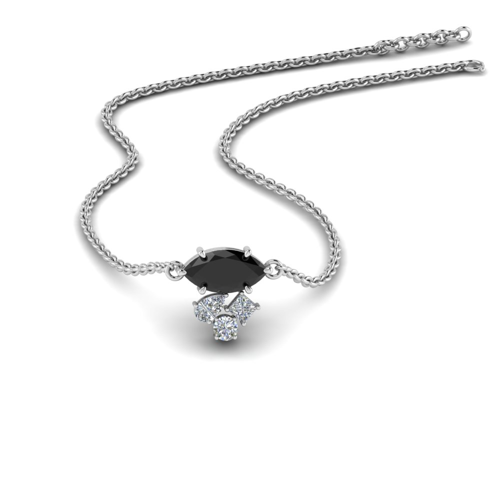 marquise-cluster-diamond-pendant-with-black-Onyx-in-FDPD9282GBLACK-NL-WG