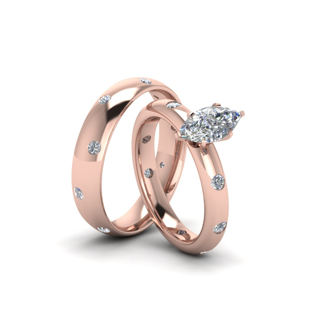 unique wedding for couple platinum sets lovers rings