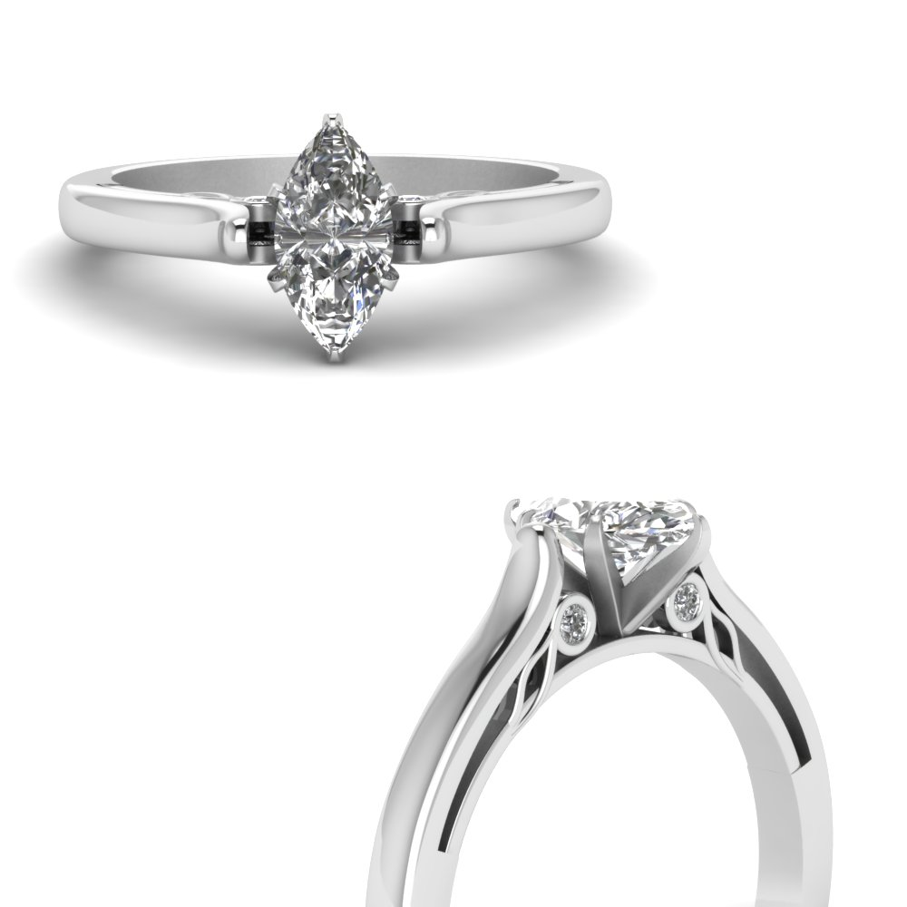 marquise shaped cathedral diamond engagement ring in FDENS2000MORHAND NL WG.jpg