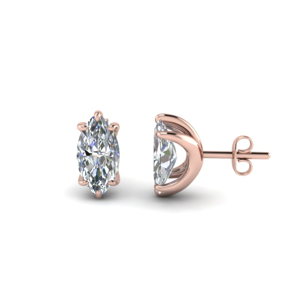 earrings white ct in ebay diamond gold itm stud