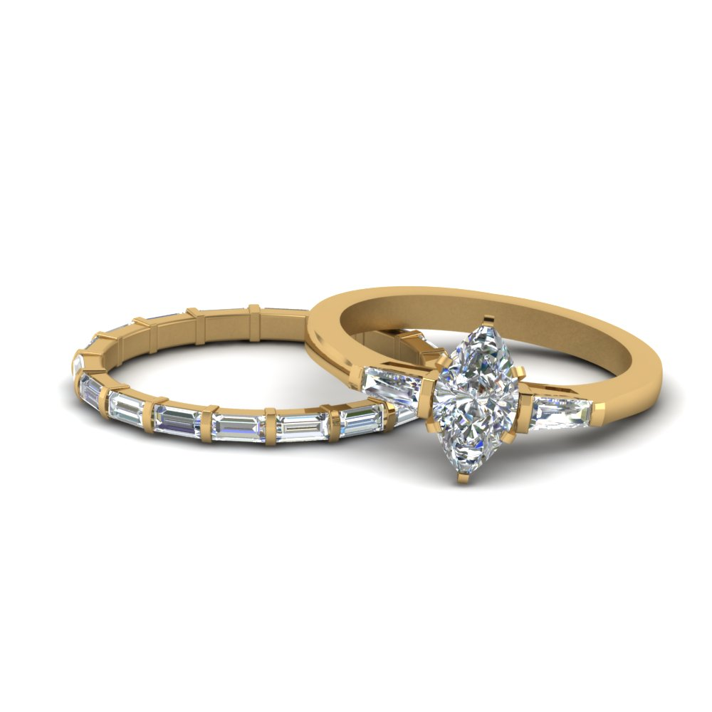 marquise-cut-petite-baguette-diamond-wedding-set-in-FD9111MQ-NL-YG