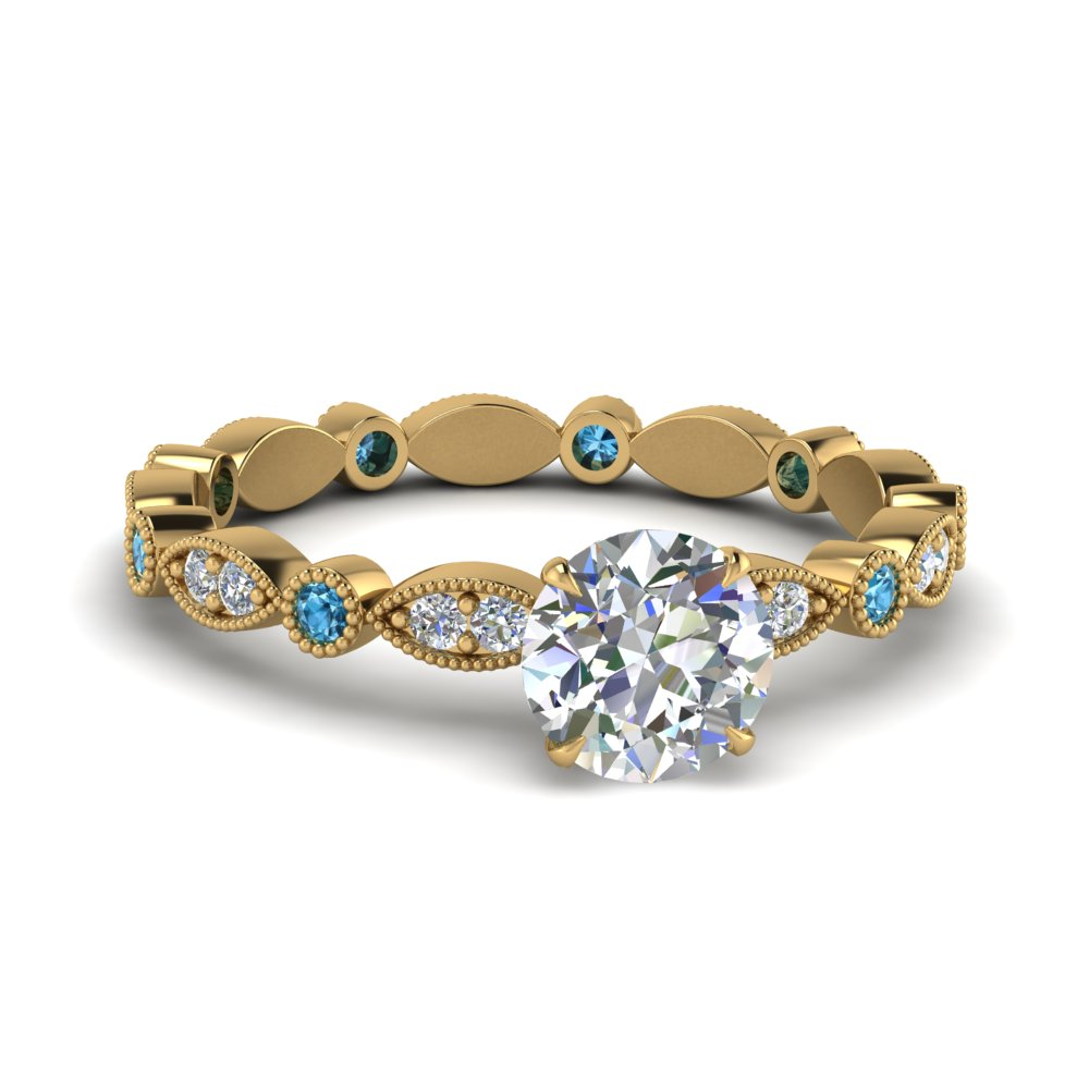 marquise-dot-eternity-round-engagement-ring-with-blue-topaz-in-FD8641RORGICBLTO-NL-YG