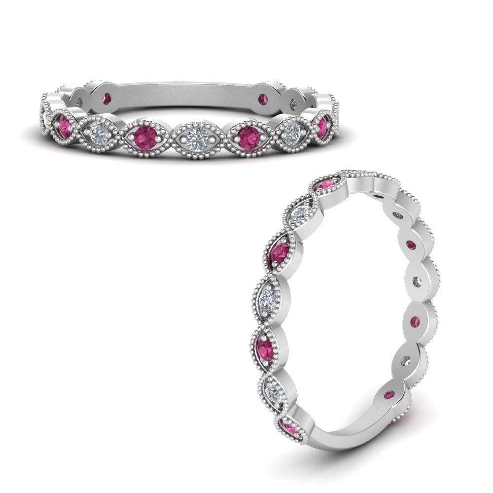 marquise-eye-thin-diamond-wedding-band-with-pink-sapphire-in-FDWB5381GSADRPIANGLE3-NL-WG