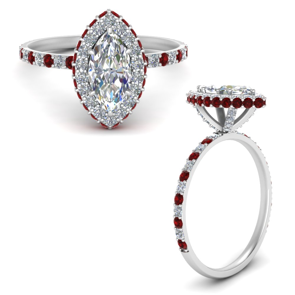 marquise-halo-diamond-rollover-engagement-ring-with-ruby-in-FD9376MQRGRUDRANGLE3-NL-WG