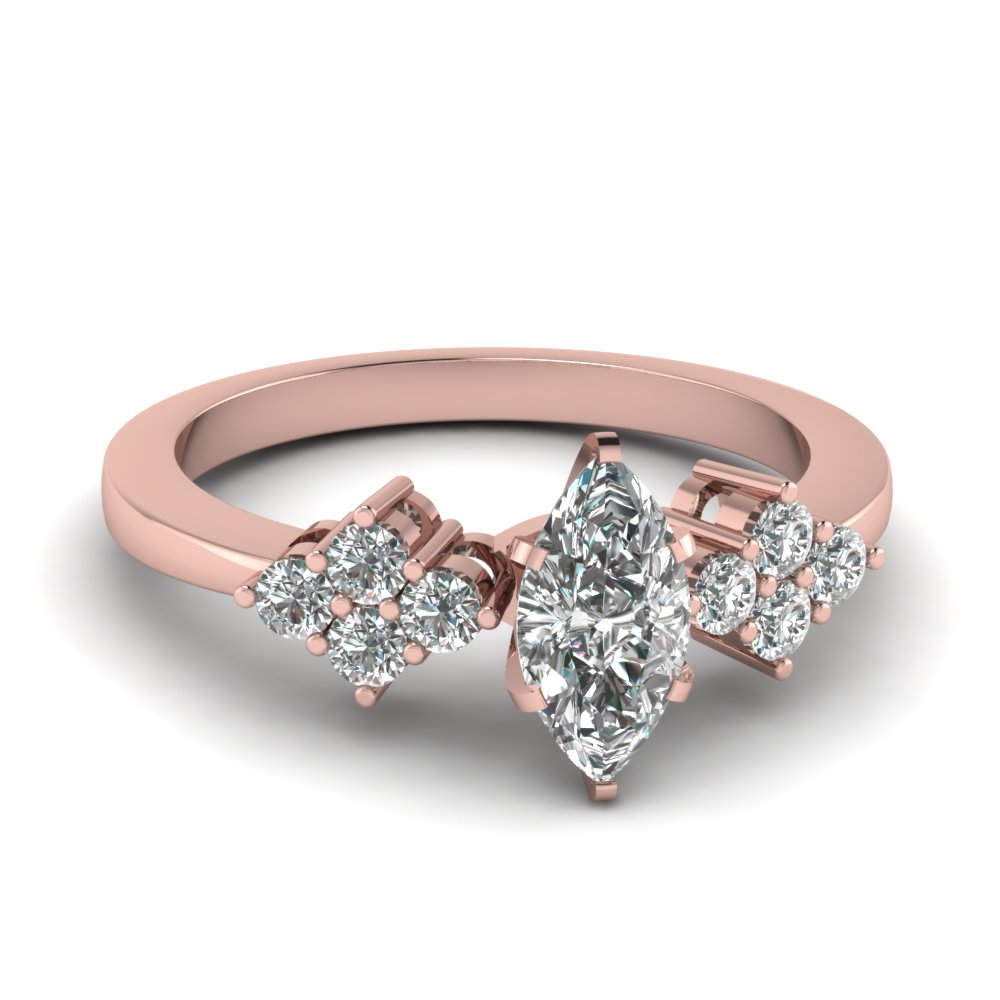 Latest Designs Of Petite & Delicate Diamond Engagement Rings | Fascinating Diamonds