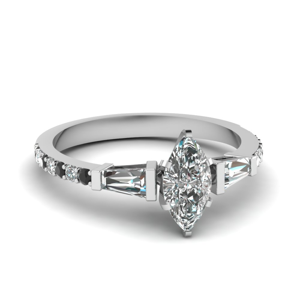 Heart Shaped Solitaire Engagement Rings