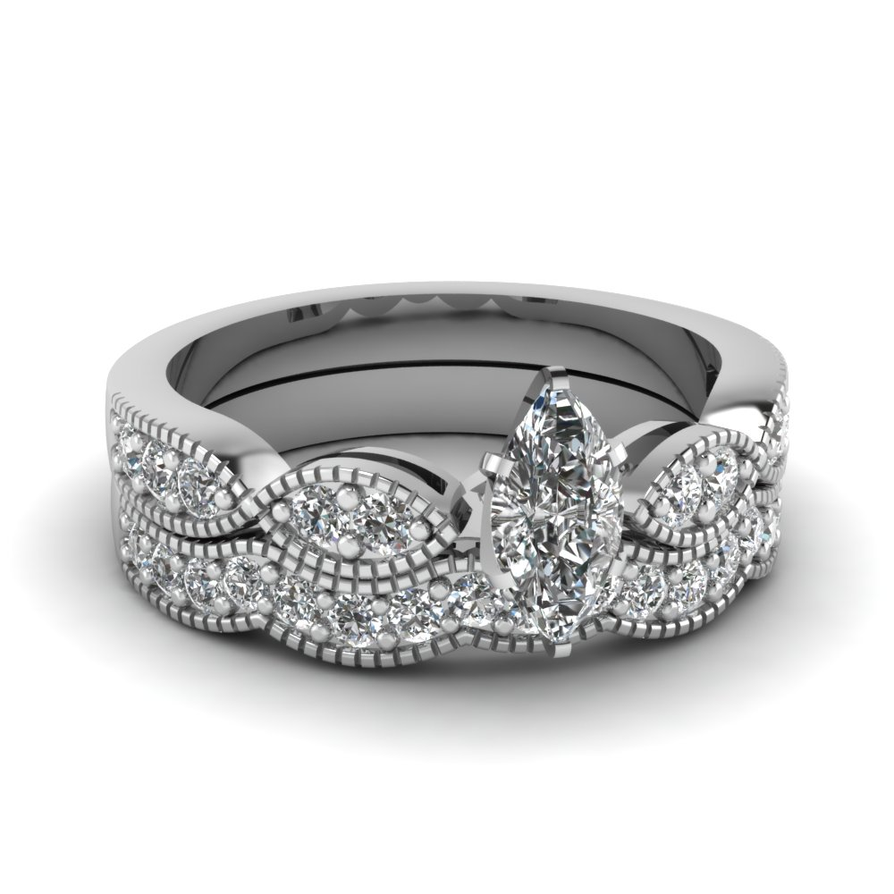 Best And Affordable Marquise Cut Engagement Rings Fascinating Diamonds