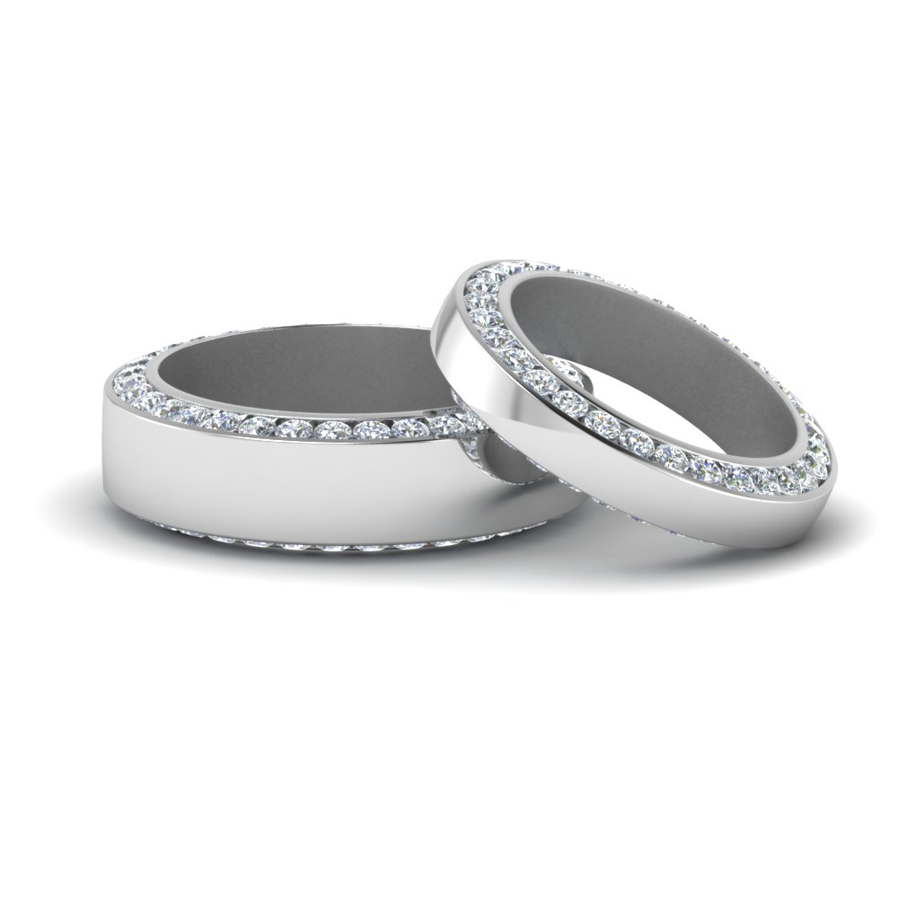 Diamond Matching Rings For Couple